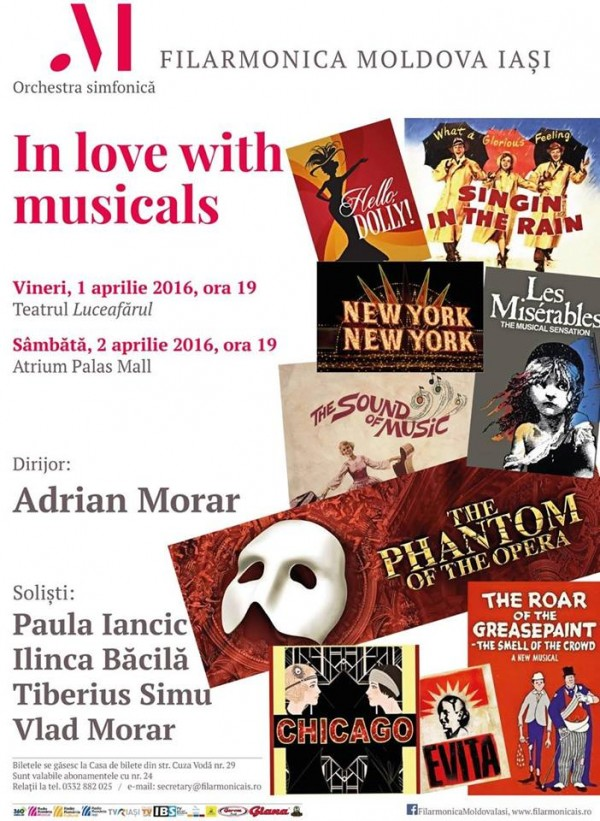 in love with musicals
