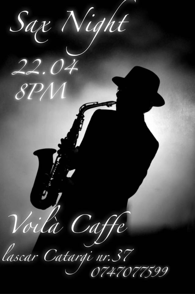 sax night voila