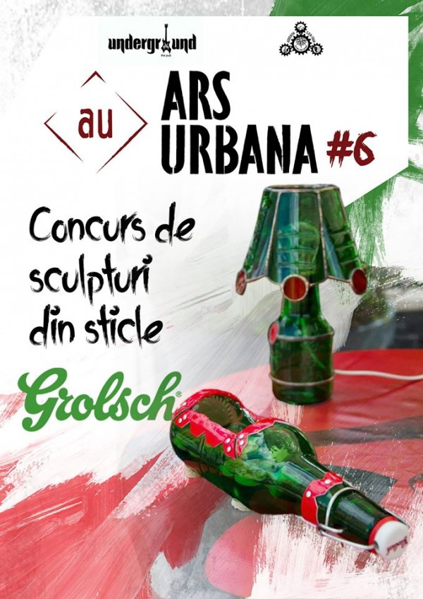 sculptura sticle-ars urbana
