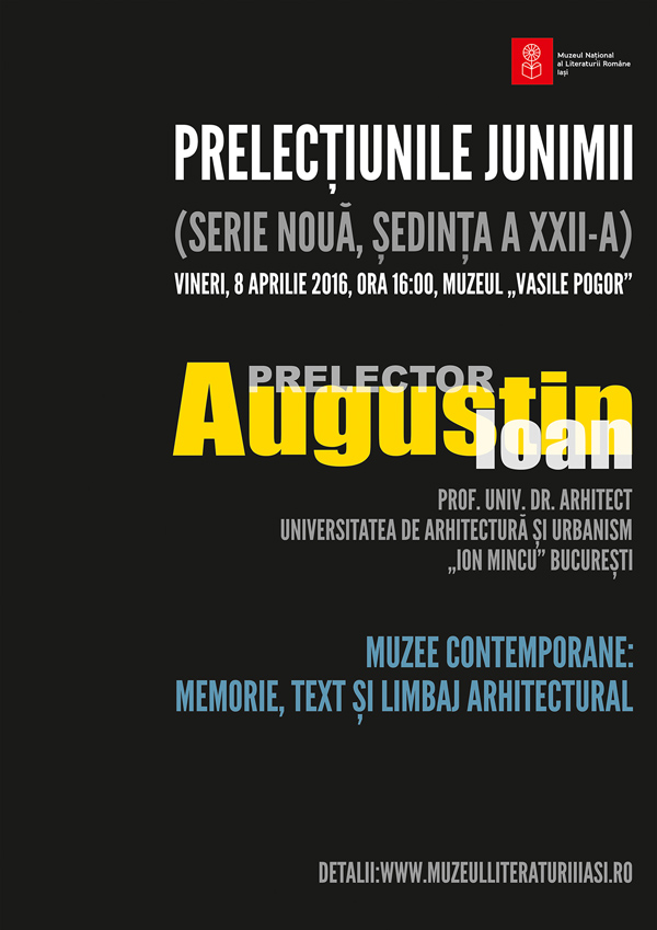 Afis-Prelectiunile-Junimii-