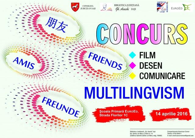 Afis concurs multilingvism 2016