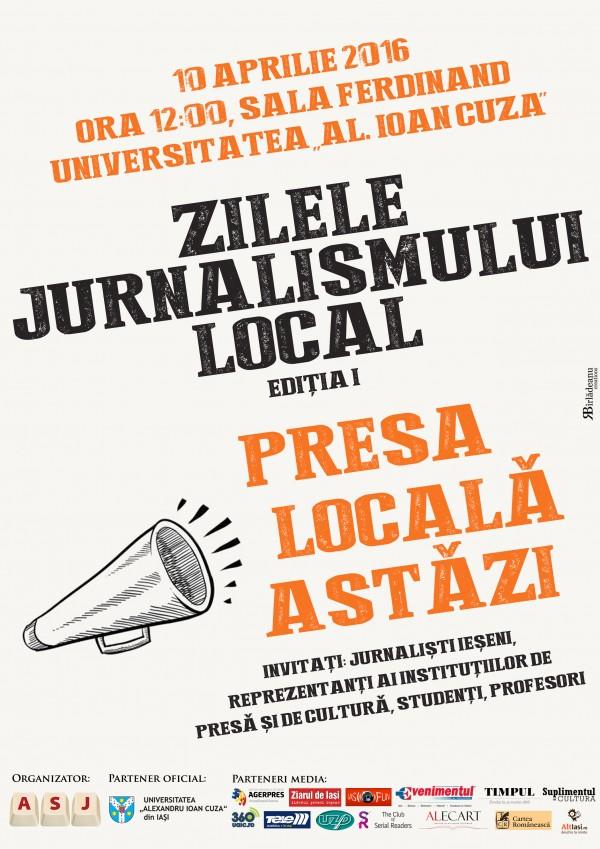 Afis_Zilele Jurnalismului