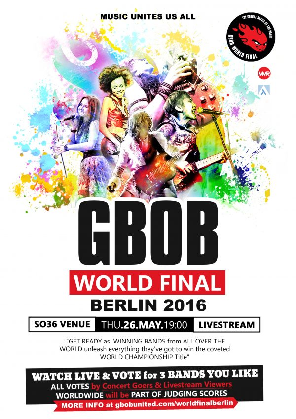 GBOB WORLD FINAL POSTER