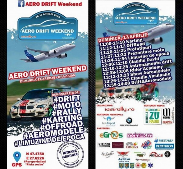 aero drift weekend