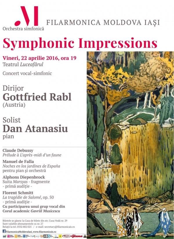 impresii simfonice 22 aprilie