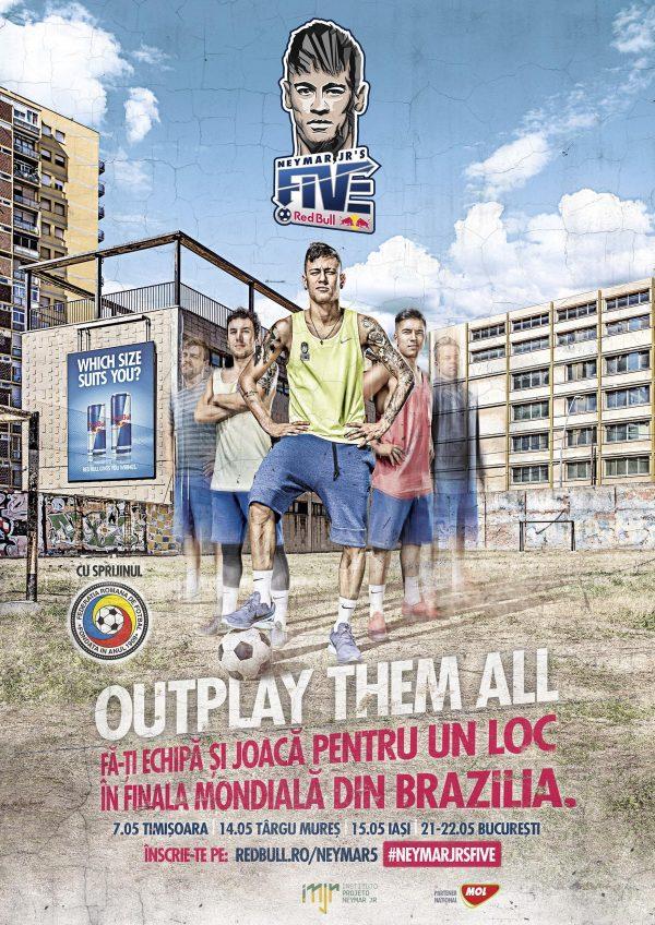 poster Neymar Five