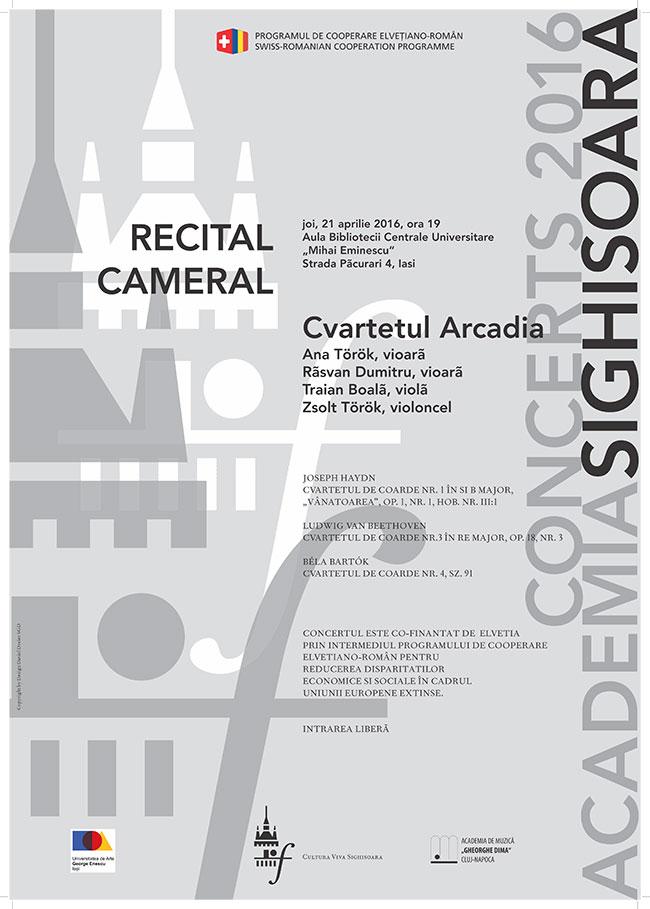 recital arcadia