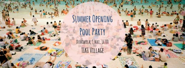 summer opening tiki village