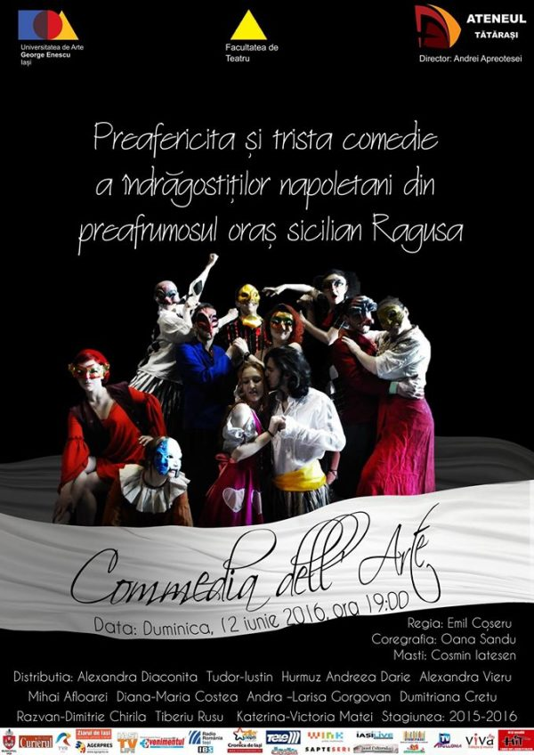 3. Commedia dell'arte