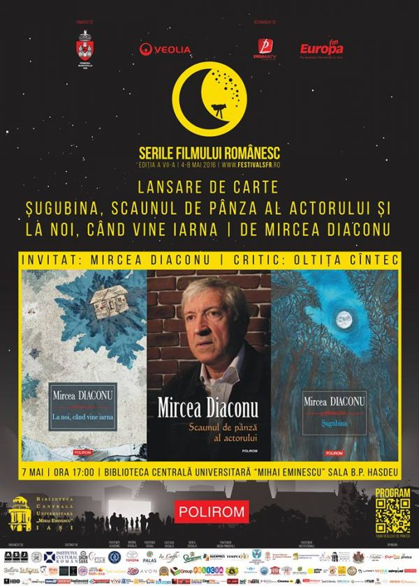 Lansare de carte Mircea Diaconu