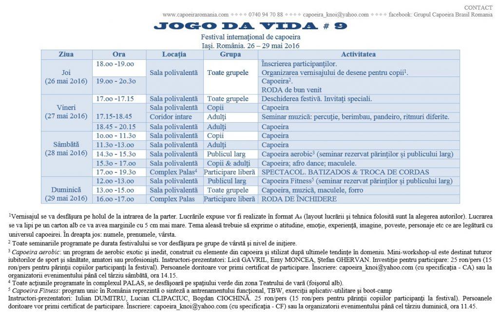 Program JdV 2016