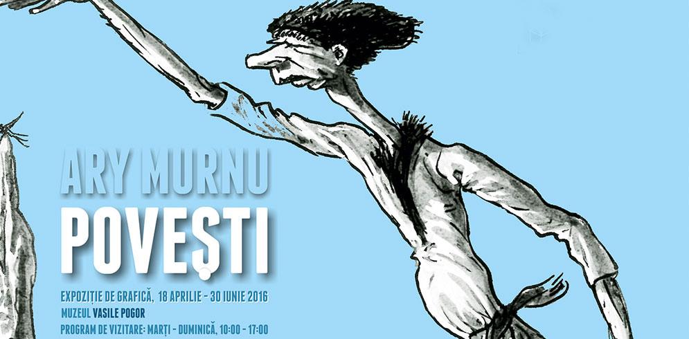 Expozitie eveniment: Grafica lui Ary Murnu la poveștile lui Ion Creangă