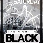 black night party