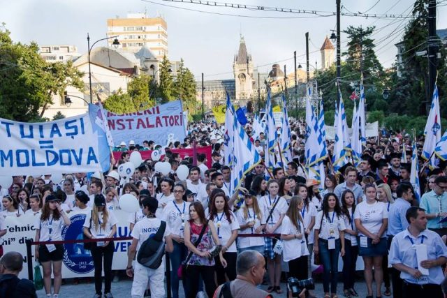 marsul absolventilor