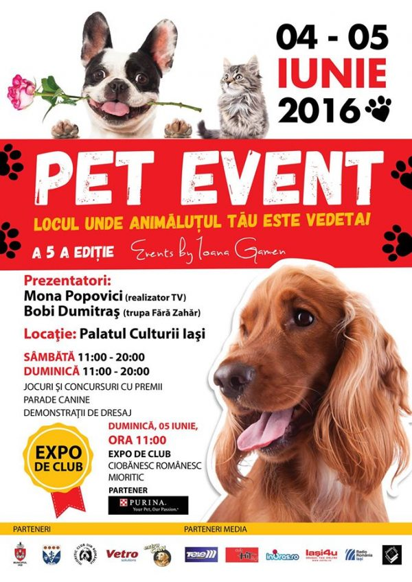 pet event iasi
