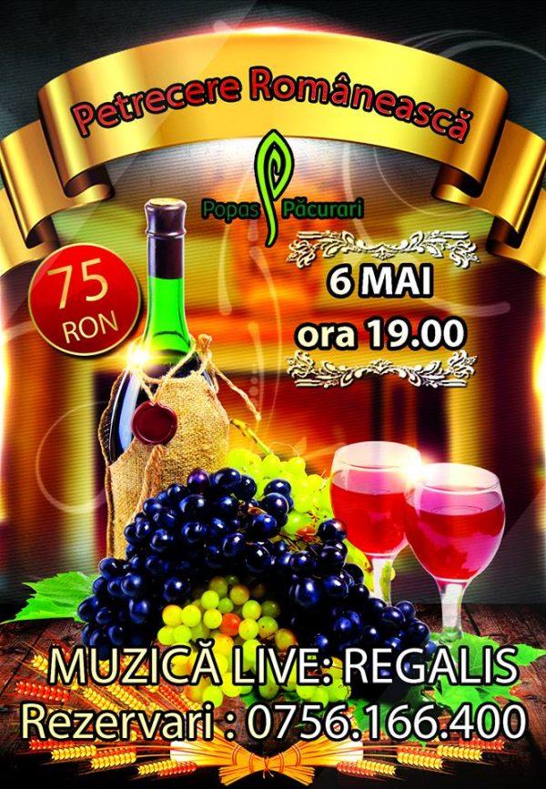petrecere romaneasca 6 mai