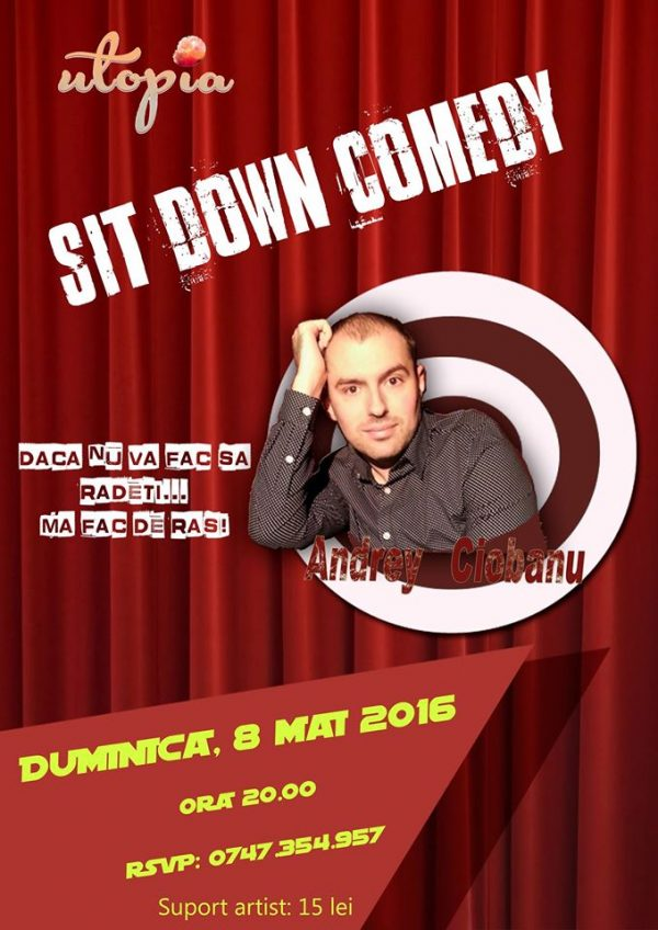 sit down comedy