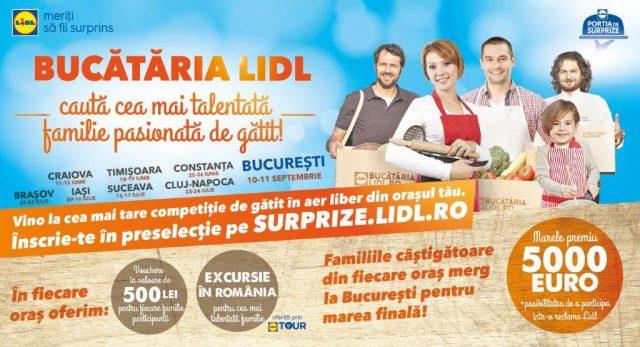 Bucataria Lidl_Cea mai talentata familie pasionata de gatit