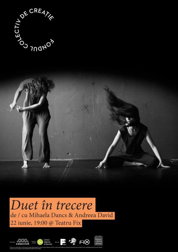 FONDUL COLECTIV DE CREAȚIE poster Teatru Fix - Duet