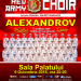 Concert extraordinar Corul Alexandrov –  Red Army Choir la București