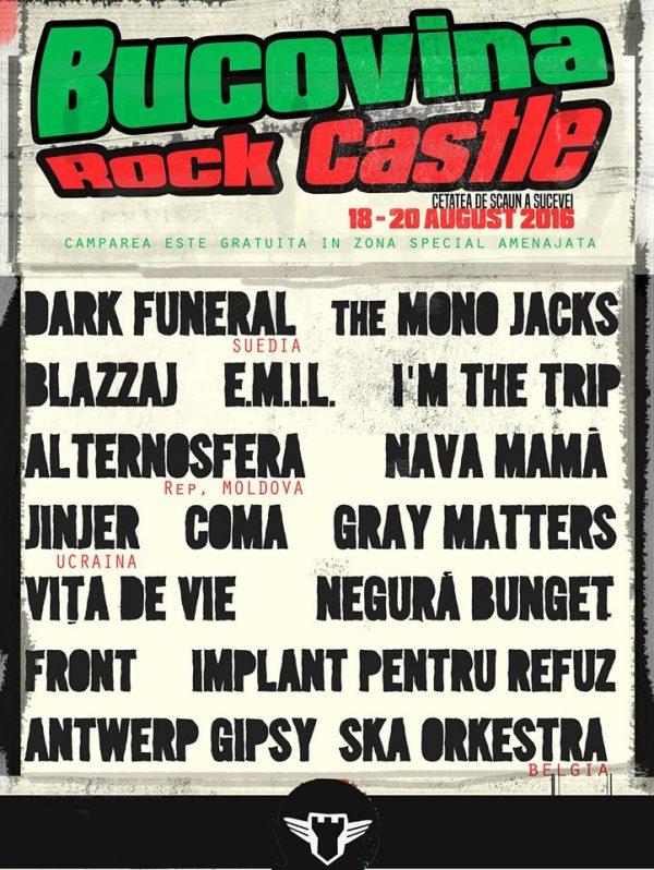 bucovina rock castle 2016