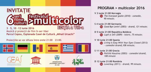 multicolor proiectii 2016