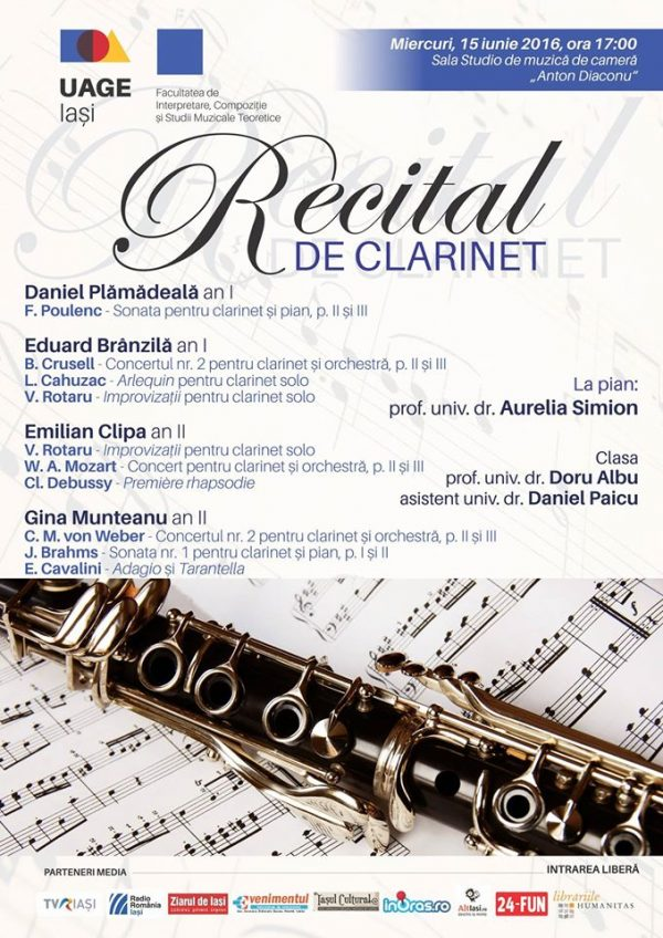 recital clarinet