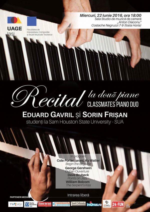 recital doua piane