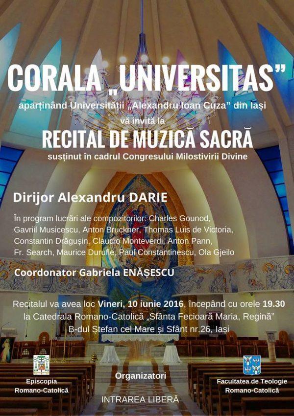 recital muzica sacra
