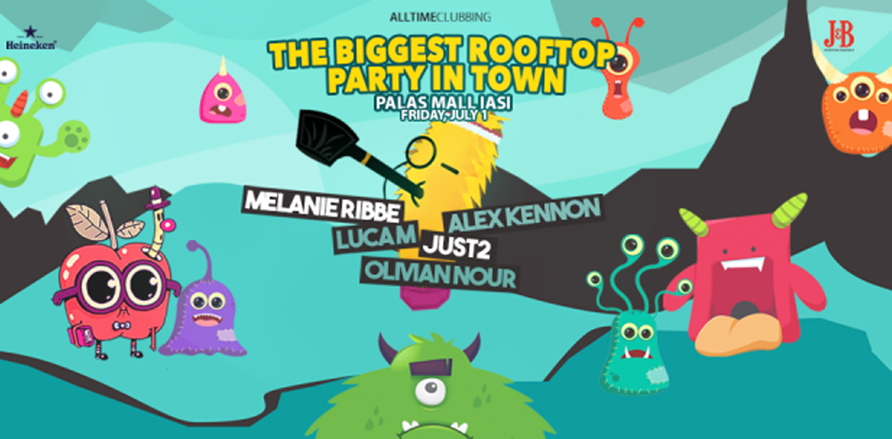 """The Biggest Rooftop Party in Town"" #3"