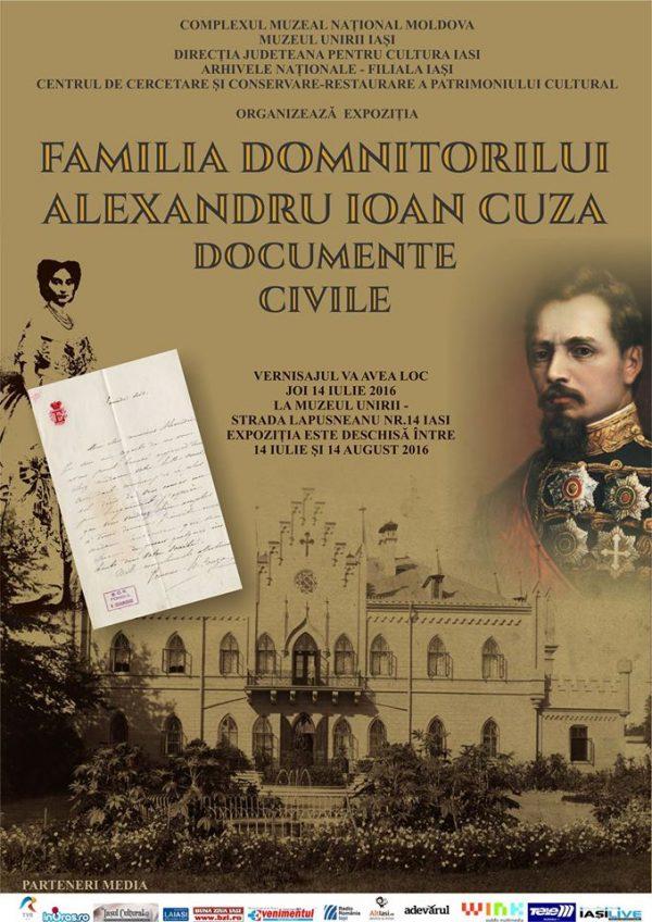 familia domnitor cuza-expozitie