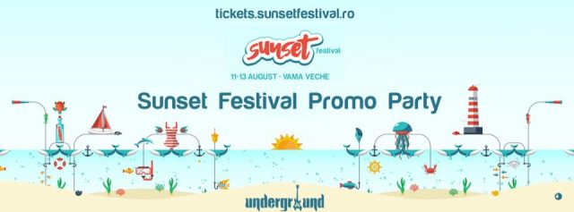 sunset festival promo party iasi