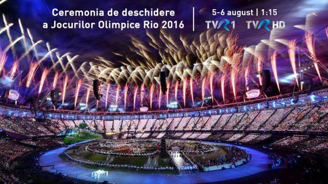 Deschidere Rio 2016