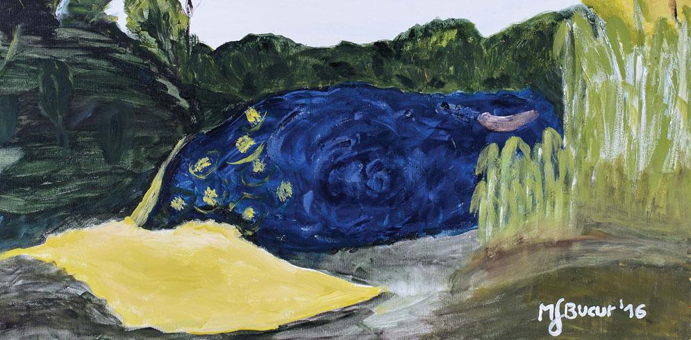 """Expozitia de pictură """"EmiNeTo"""" – Marius Bucur Szabo"""