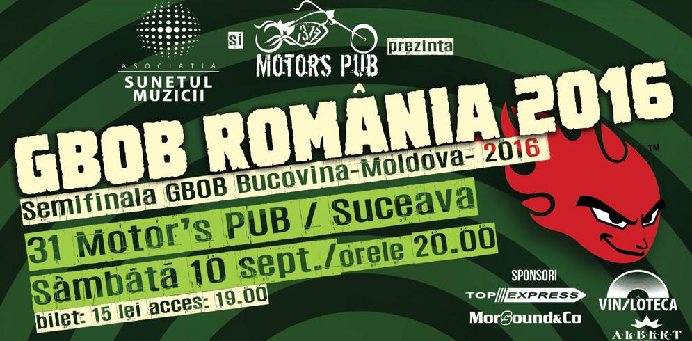 Semifinala GBOB Bucovina-Moldova 2016 @31 Motor's Pub / Suceava