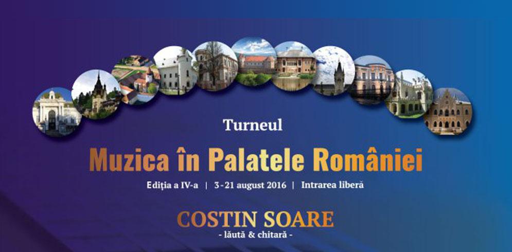 """Turneul Național """"Muzica în Palatele României"""" are patru concerte la Iasi"""