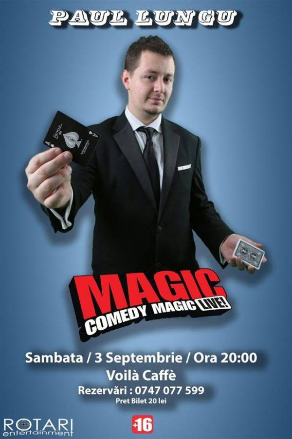 paul lungu magic show