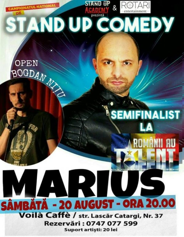 stand up marius-voila