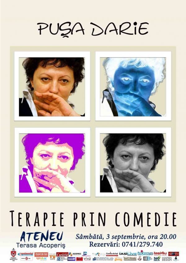 terapie prin comedie