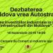 """Dezbaterea """"Moldova vrea Autostradă: """"Atragerea investițiilor industriale în contextul infrastructurii din Moldova""""."""