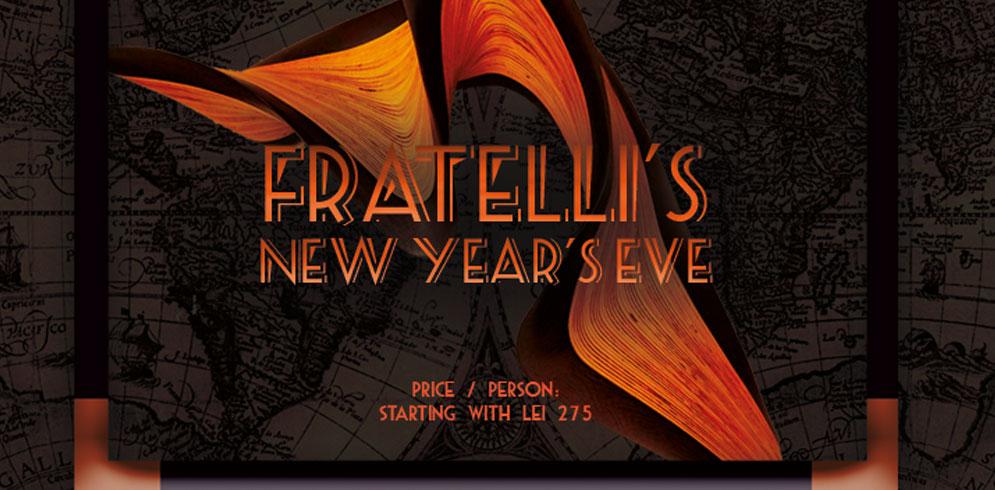 Fratelli's New Year Eve Party!