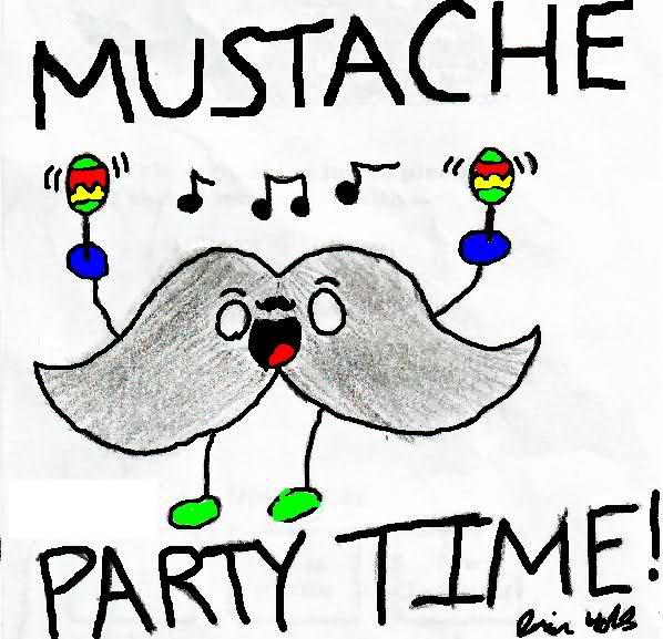 mustache-party
