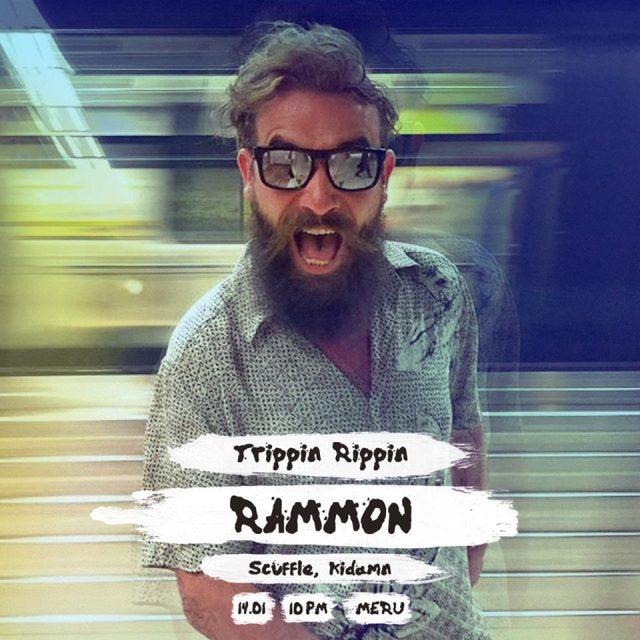 Trippin' Rippin' cu Rammon (RO), Kidamn & Scuffle