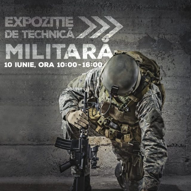 Expozitie de tehnica militara la Era Shopping Park