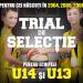 Trial de selectie U13 si U14 la baschet pentru participarea la campionatele nationale