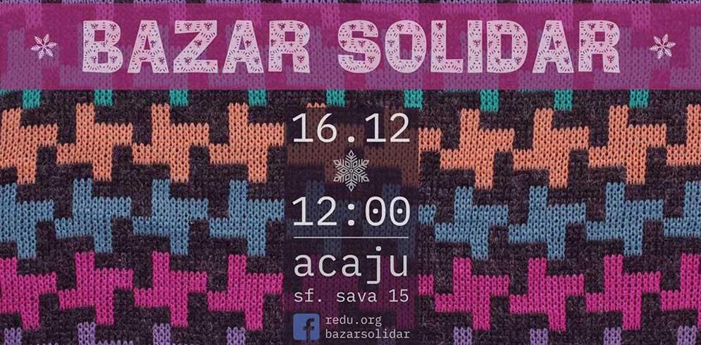 Bazar Solidar de iarna @Acaju