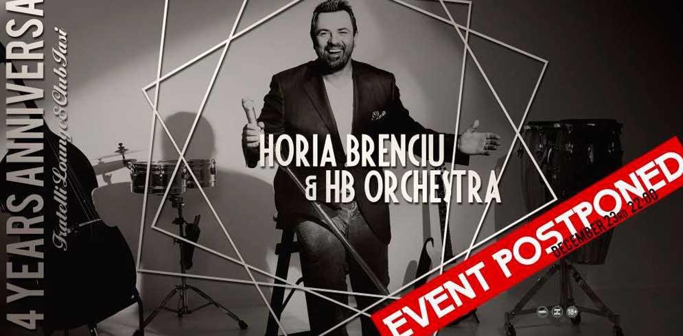 Horia Brenciu & HB Orchestra LIVE @Fratelli Iasi