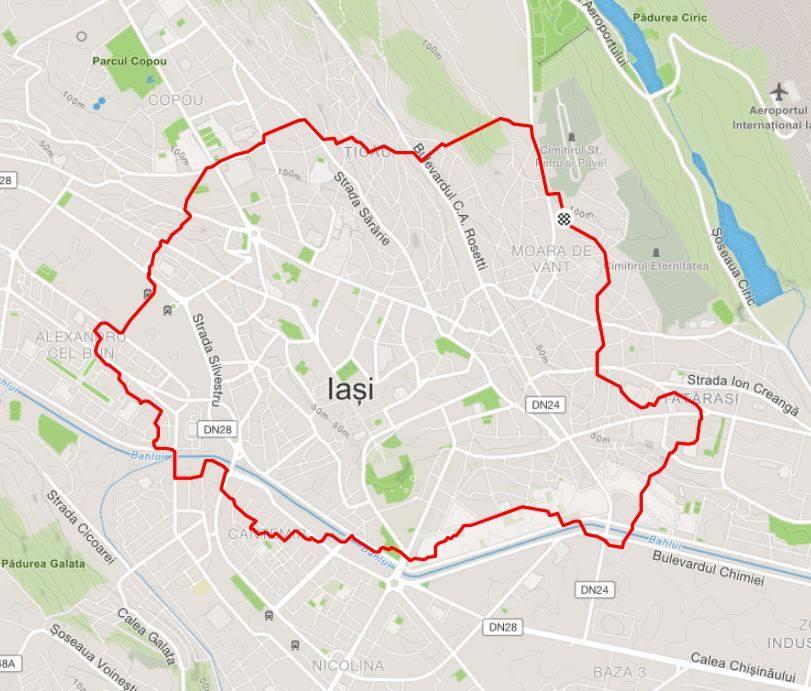 Harta Romaniei Pe Bicicleta La Iasi Iasifun Site Ul Tau De