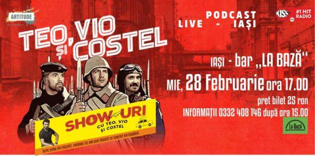 Podcast LIVE cu Mocanu, Teo, Vio si Costel