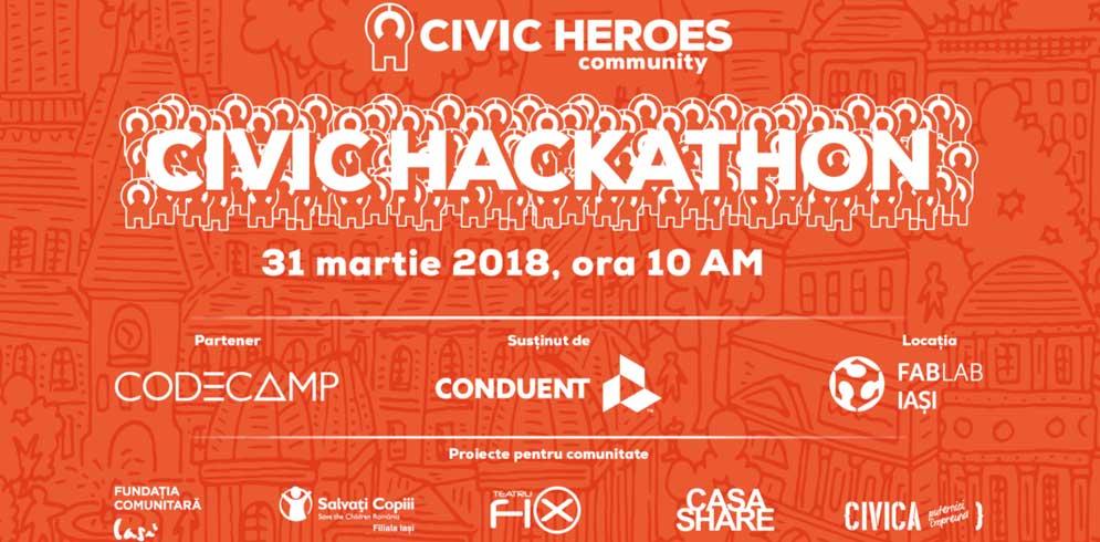 Civic Heroes în Iași – conectează ieșenii talentați cu proiectele cu impact public care au nevoie de ei